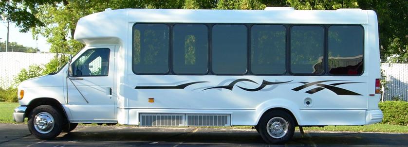 20-22 passenger limo bus