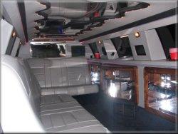 12 passenger Tuxedo Limo interior 1