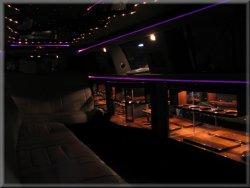12 passenger Tuxedo Limo interior 2