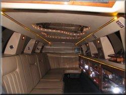 14 passenger Tuxedo Limo interior 1