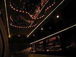 14 passenger Tuxedo Limo interior 2
