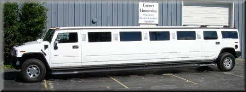 24 passenger Hummer H2 Exterior