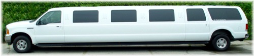 24 passenger Ford SUV limo exterior