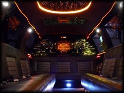Harley Davidson limo truck interior
